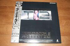 TERMINATOR 2 JAPAN Laserdisc NTSC w/OBI from Japan