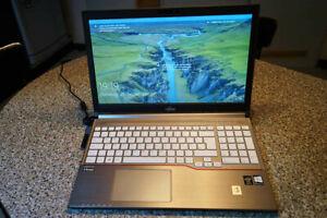 "Notebook Fujitsu Lifebook E754 15,6"" Intel i5-4210M 8GB Samsung SSD 256GB Win 10"