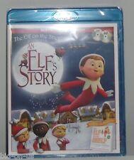 ELF on the SHELF  Blu-ray DVD An Elf's Story 3D animation Christmas NEW