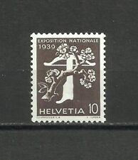 Suiza, 1939, Mi. 349z, MNH