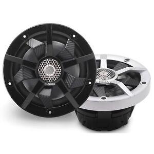 Clarion CM1623RL 6.5-inch 2-way Marine Speakers 80W RMS power handling Built-in