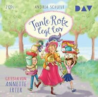 TANTE ROTZ LEGT LOS - SCHÜTZE,ANDREA  2 CD NEW