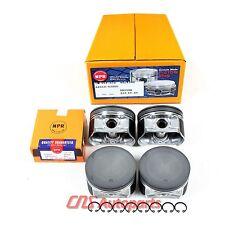 """Fits 02-06 Nissan 2.5L Altima Sentra QR25DE .020"""" Over NPR Pistons w/ Rings Set"""