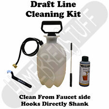 Draft System Beer Line Cleaning Pump Kit Homebrew Kegerator w/ 32oz Cleaner