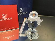SWAROVSKI FIGUR SCHNEEMANN VATER 5,7 cm  MIT OVP & ZERTIFIKAT TOP ZUSTAND