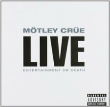 Motley Crue - Live Entertainment Or Death - CD - New
