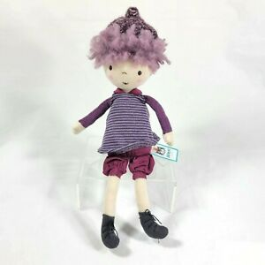 "Jellycat London Blackberry Doll Girl Plush Stuffed Animal Toy 12"" Retired New"
