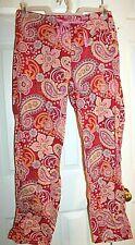 Vera Bradley Raspberry Fizz Cotton Pajama Pants size S