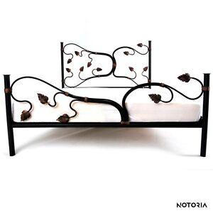 LIANA Eisenbett Metallbett Schlafzimmer Design Bett Bettgestell