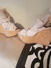 Topshop wedges size 5 final price
