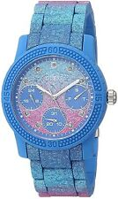 Guess Iconic 37mm Women's Silicone MultiFunction Chrono Watch U0944L2 NEW!