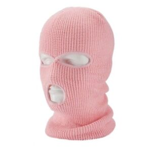 New 3 Hole Full Face Ski Mask Winter Cap TikTok Ski Mask