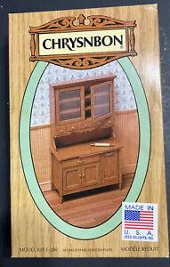 CHRYSNBON Furniture Kit F-280, Kitchen Cabinet & Rolling Pin New Unbuilt