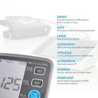 Pur-Well Living Smart Blood Pressure Monitor Automatic BPM Upper Arm Cuff