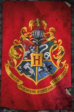 Poster HARRY POTTER - Hogwarts Flag (Red) ca60x90cm NEU 58687