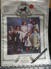 Smocking Horse Sewing Pattern Girl's AMY'S PINAFORE II AP12 Sz 7-14 UNCUT