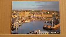 Postcard unposted Orkney Kirkwall harbour
