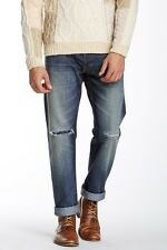 Artisan De Luxe Easton Selvedge Denim Men's Straight Leg Jeans $195 NEW 32x34