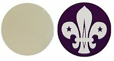 SCOUTS SCOUT LOGO METAL GOLF BALL MARKER DISC 25MM DIAMETER