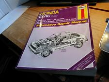 Haynes Repair Manual for 80-83 Honda Civic