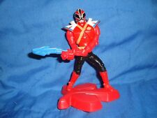 Mcdonald's 2012 Power Rangers Super Samurai Red Ranger #1 good topper