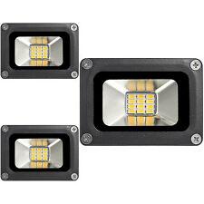 3X 10W Fluter Warmweiß LED Außen Strahler Flutlicht Scheinwerfer 12V Lampe IP65