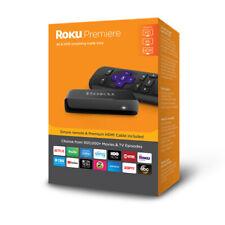 Roku 3920Rw Premiere 4K Hdr Streaming Player, Black