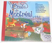 Histoires à Ecouter CD Chats de Montrèal avec Daniel Lavoie NEUF