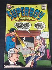 Vintage Superboy Comic # 62 January 1958 DC Comics Silver Age VG/FN