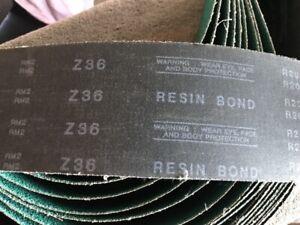 "Performance Sanding Abrasive Belt  4"" by 60""  36 Grit   R203 10 Units 1 Money"
