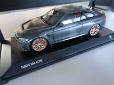 BMW M4 GTS Frozen Dark Grey Miniatur 1 18