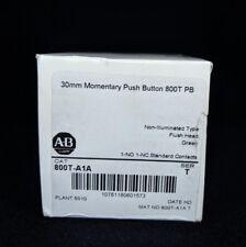 ALLEN BRADLEY 800T-A1A 30.5mm Type 4/13 Mom. Contact PB