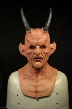ASMODEUS - Silicone Full Mask with Horns by MADNESS FX - not CFX, Immortal, SPFX