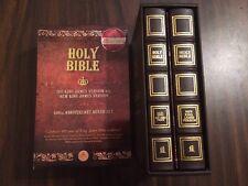 KJV 1611 / NKJV Bible Boxed Set - Brown Bonded Leather - $119.99 Retail