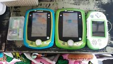 LEAPFROG- EXPLORER, 2 LEAPPAD 2s, and 12 GAMES COMPATIBLE WITH BOTH SYSTEM.