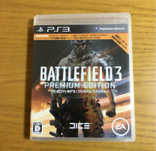 PS3 Battlefield 3 Premium Edition 21007 Japanese ver from Japan