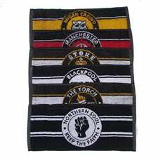 Warrior Vintage Set of 5 Northern Soul Themed Bar Limited Edition Bar Towels
