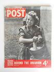 WW2 British Picture Post Magazine May 13 1944 Vol. 23 No. 7 D-Day Invasion