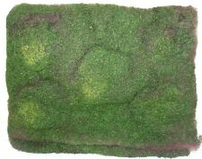 2 x SOFT MOSS MATS- 30cm x 40cm-ARTIFICIAL/FAKE GREENERY- TERRARIUM/CRAFT/GARDEN