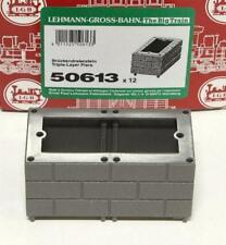 """LGB 50613 G - GP=1,41€/ Stück  Brückendreierstein 45mm """" 12 Stück """" NEU & OvP"""