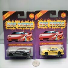 Hot Devils / Mercedes C Class & Alfa Romeo 155 - Street Sedans -  Model Cars x2