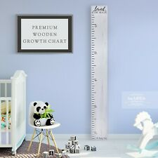 Back40Life Wooden Kids Growth Height Chart Ruler for Boys and Girls