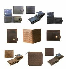Men's Leather Wallets With RFID Styles Bi Fold,Tri Fold,Coin Pocket,Card Holders