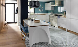 Remo Matt White (Second Nature) Kitchen units & doors Rigid Built Kitchens