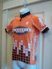 Hincapie Sportswear Gran Fondo Course Marshall Jersey Mens XS Orange