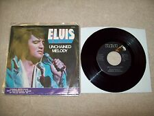 "Elvis Presley - Unchained Melody c/w Softly, As I Leave You 7"" Single / Aria"