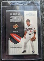 2003 PRESTIGE CAL RIPKEN JR GAME USED JERSEY PATCH BALTIMORE ORIOLES 194/325