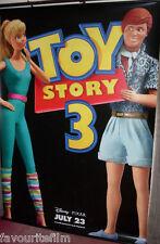 Cinema Banner: TOY STORY 3 2010 (Ken & Barbie) Tom Hanks Tim Allen Joan Cusack
