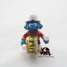 Figurine collection SCHTROUMPF Fanfare Tambour Smurf SCHLEICH Germany PEYO