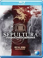 SEPULTURA/LES TAMBOURS DU BRONX - METAL VEINS-ALIVE AT ROCK IN RIO   BLU-RAY NEU